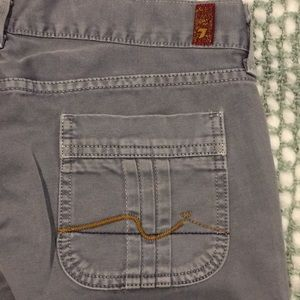 7 For All Mankind Gray Pants Size 29
